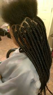 how to part hair for boxed braids large box braids by rilbraidz braidery braids twist by