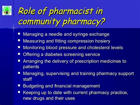 Responsibility Of A Pharmacist by Pharmacy It S Even More Than You Can Imagine
