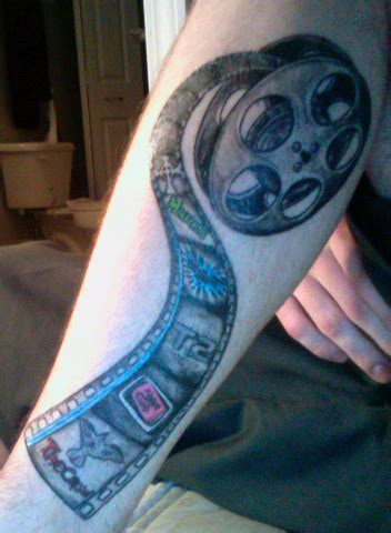film reel tattoo designs tartan of the week reel the clarion
