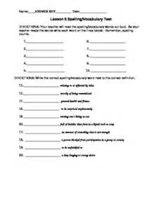 journeys 4th grade vocabulary test word list for