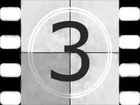 Film reel 5 4 3 2 1 countdown creative commons use youtube