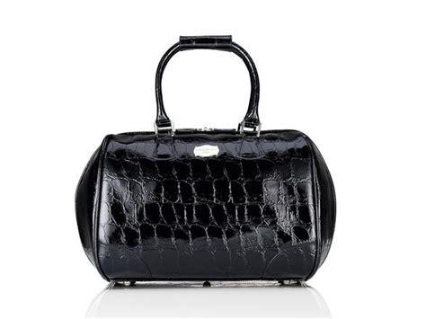 Tripp Luggage Pleasure Collection By Jasper Conran by Jasper Conran At Tripp Black Opulence Croc Flight Bag