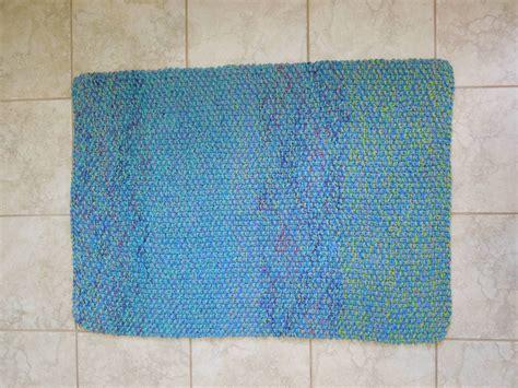 pattern bath rugs cotton bath mat free knitting pattern
