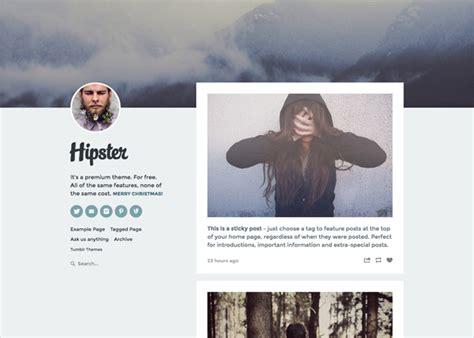 Themes Tumblr Free Hipster | 25 free minimal tumblr themes inspirationfeed