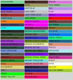 colors list 28 list of colors list of colors search