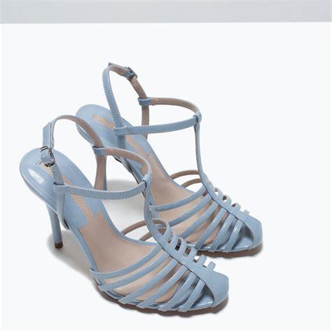 Heel Shoes Jelly high heel jelly shoe from zara