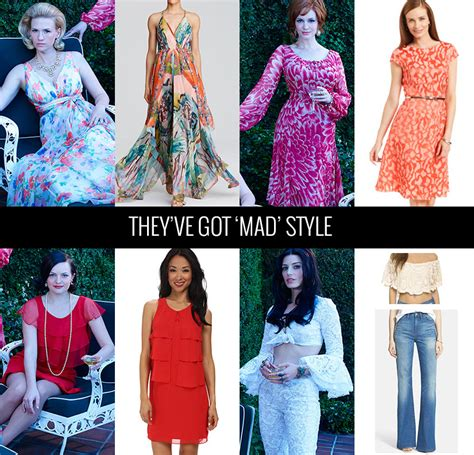 mad style a look at mad season 7 style with a modern twist their
