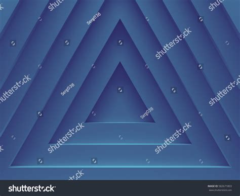 modern pattern works thane blue triangles abstract geometric background material