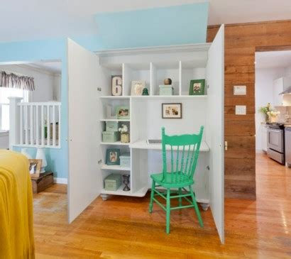 Schreibtisch Kleines Büro by Wohnzimmer Braun Creme