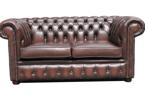 Chesterfield Leather Sofa Used Vintage Leather Chesterfield Sofa Used