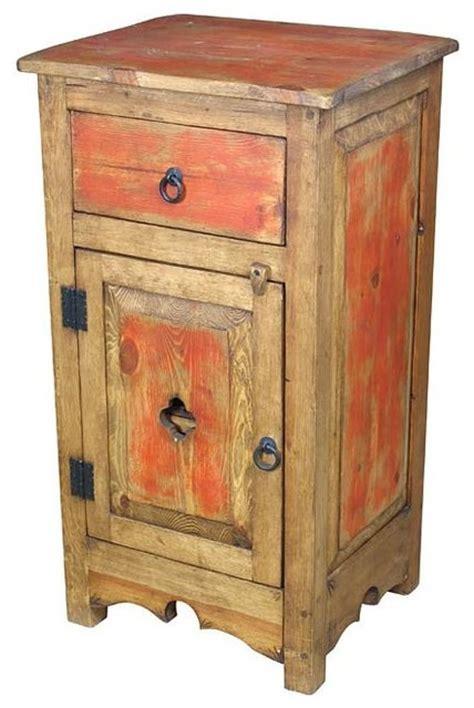 rustic nightstands painted nightstand rustic nightstands and bedside