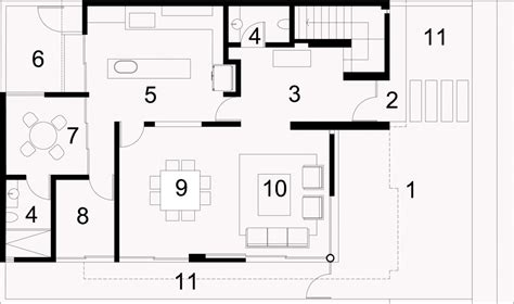 amityville house floor plan architectural minimalism and geometric layouts seth