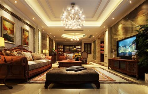 luxury living room free download european style luxury living dining room