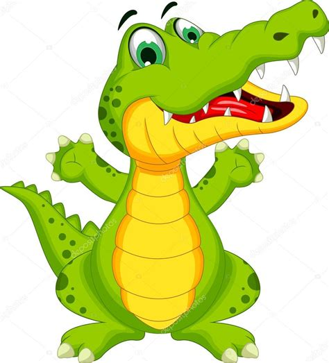 imagenes de vector the crocodile caricatura lindo cocodrilo vector de stock