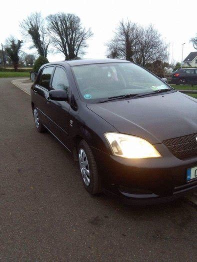 Toyota Corolla 2004 Mpg 2004 Toyota Corolla For Sale In Monamolin Wexford From