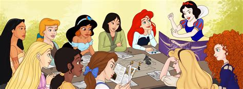 disney princess painting play princesses dnd by madam marla on deviantart