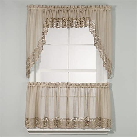bed bath beyond kitchen curtains bali kitchen window curtain tiers bed bath beyond