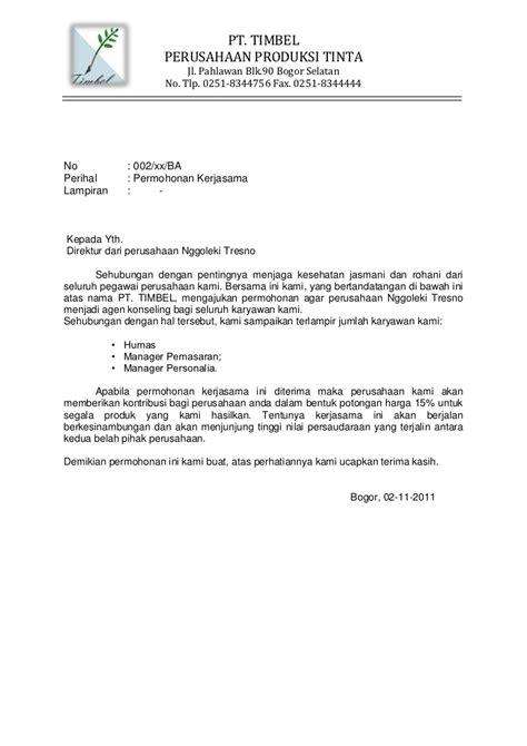 Contoh Surat Pengantar Sponsorship Event by Surat Permohonan Izin Pegawai Surat Permohonan
