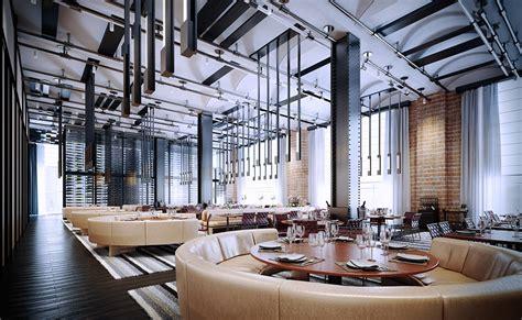 design cafe industrial industrial cafe design on behance