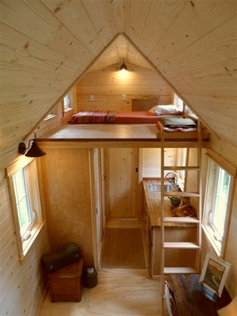 small house with loft ynez tiny house on wheels by oregon cottage company