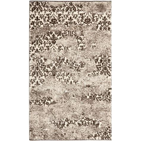light grey area rug nuloom blythe grey 4 ft x 6 ft area rug rzbd16a 406
