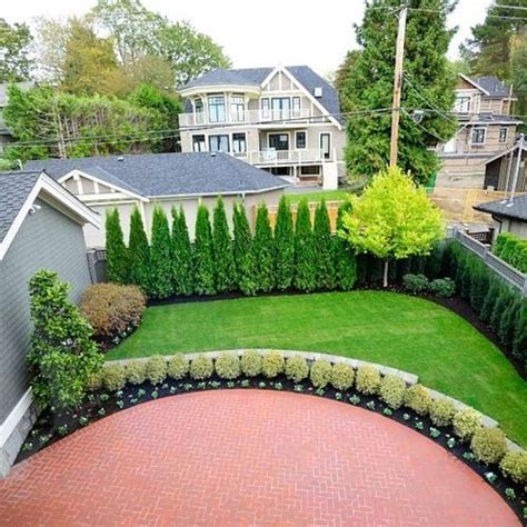landscape backyard ideas 25 best ideas about privacy landscaping on