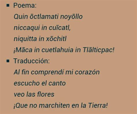 poemas en nahuatl n 225 huatl learning board pinterest dialecto mexicano