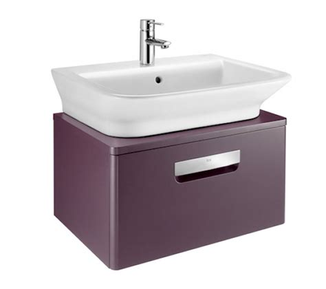 roca the gap n wall hung vanity unit with basin uk bathrooms