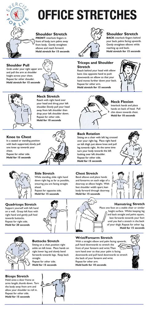 Office Desk Exercises Abs Best 25 Desk Exercises Ideas On Office
