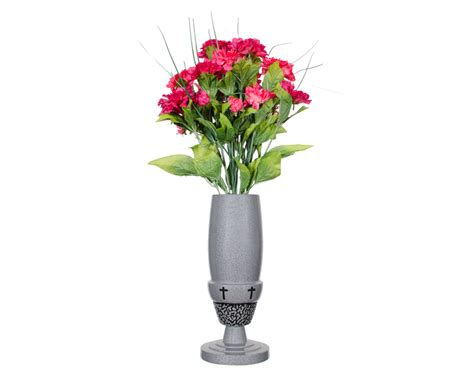 Memorial Vases For by Memorial Vases Upright Vases Crown U S Metalcraft