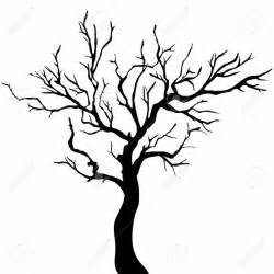 bare tree silhouette google search inked clipart Barbed