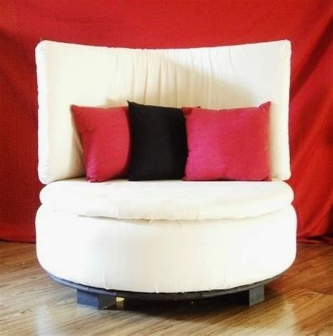 tire couch tire to round sofa chair