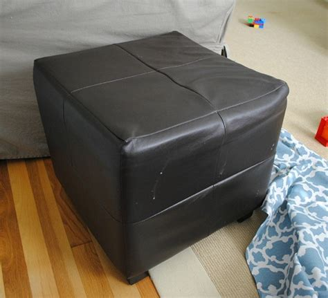 where to put ottoman where to put ottoman i did it reupholstering cube