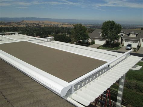 Retractable Awning Covers by Retractable Pergola Covers Ers Shading San Jose Ca