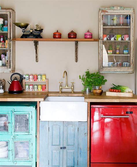 Shabby Chic Kitchen Ideas vintage modas mutfaklarda miyav miyav