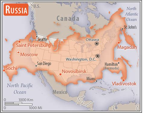 russia map size the world factbook central intelligence agency
