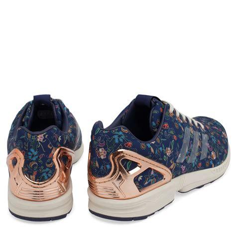 Adidas Zx Flux Limited Edition by Adidas Blue Limited Edition Zx Flux Sneakers For
