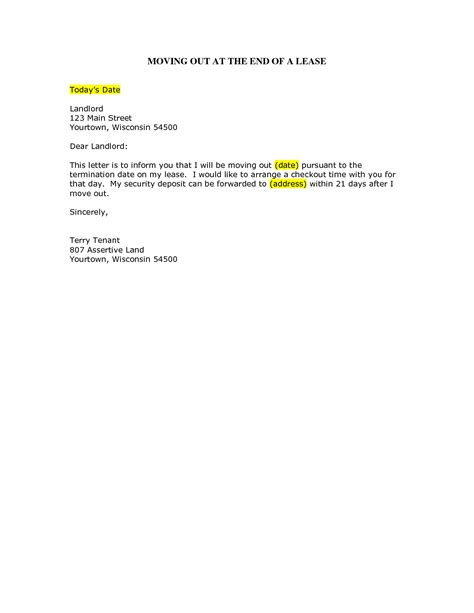 Sle Cover Letter Relocation moving home letter template 28 images resignation