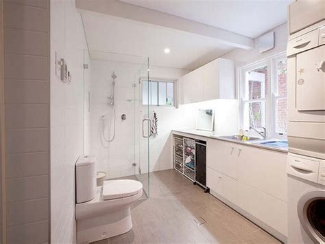Basement laundry room ideas, basement bathroom laundry