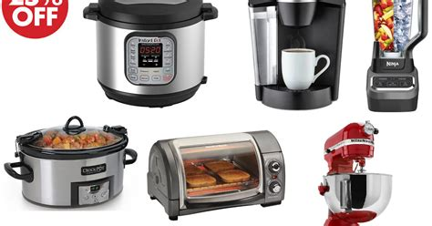 target kitchen appliances coupons and freebies 25 off kitchen appliances on target