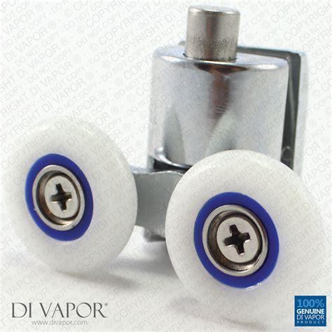 Quadrant Shower Door Rollers Di Vapor R Quadrant Shower Door Roller 6mm To 8mm Glass Zinc Ebay