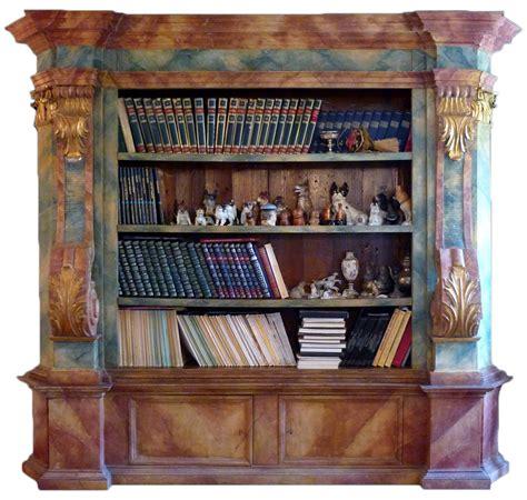 credenza bassa antica antica libreria a ponte bassa il meglio design degli