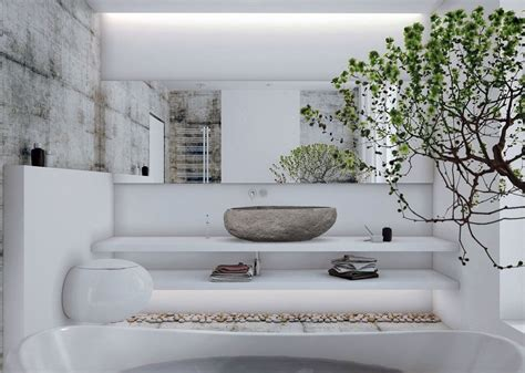 layout zen zen inspired bathroom design zen vessel sinks rocksinks