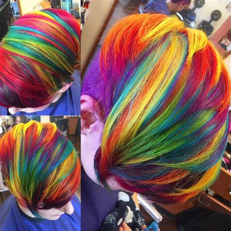 plastic rainbow hairthings 5 minutes with alyssa wiener the lisa frank hair queen