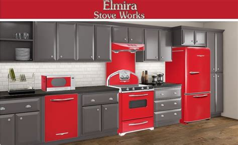 red appliances for kitchen 17 best images about timeless retro kitchens by elmira on