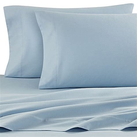 light blue bed sheets the seasons collection 174 flannel sheet set in light