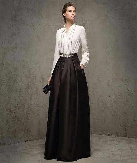 faldas y blusas para bodas 2016 m 225 s de 25 ideas incre 237 bles sobre traje de blusa negro en