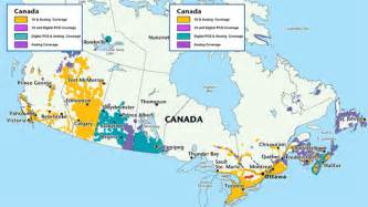 cell phone coverage map canada canadian cellphone networks stuhallwrites