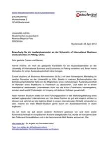 Anschreiben Auslandspraktikum Motivationsschreiben Auslandssemester Erasmus Motivationsschreiben Ausland Motivationsschreiben