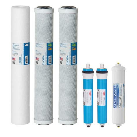 osmosis water filters apec water systems ultimate complete replacement filters with membrane for 180 gpd premium